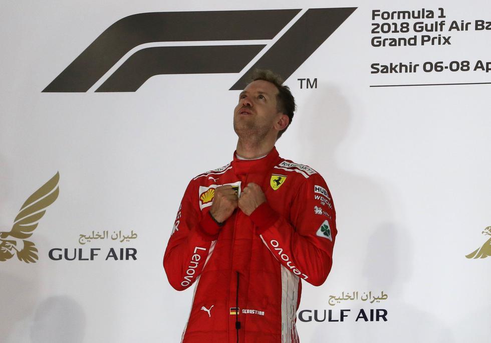 Sebastian Vettel se consolida como líder de la F1 tras el desarrollo de la segunda prueba del año, que representó en su carrera 200 en la categoría reina del automovilismo.  (REUTERS)