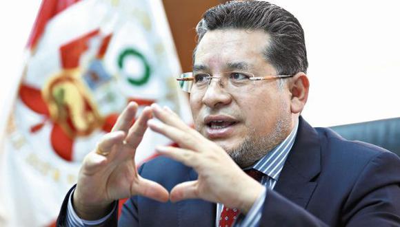 """Rubén Vargas: """"Podría haber más docentes en Movadef"""". (Luis Centurión)"""
