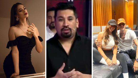 Jossmery Toledo, Aldo Miyashiro y Yahaira Plasencia fueron los personajes del día. (Foto: Composición Instagram / Captura América TV).