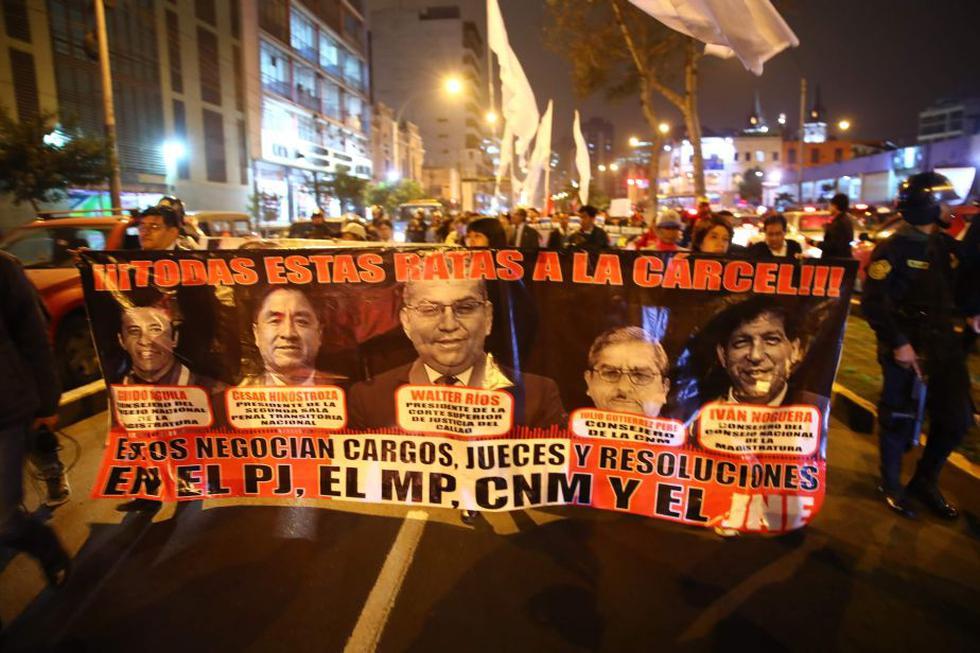 La ciudadanía está indignada con la corrupción en el sistema de justicia. (Perú21)