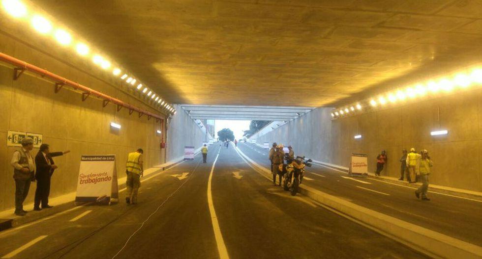 Bypass de 28 de Julio: Municipalidad de Lima puso en funcionamiento obra este viernes. (Óscar Flores)