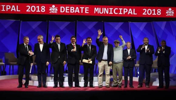 Segundo debate de candidatos se realiza en el Centro de Convenciones de Lima. (César Campos/Perú21)
