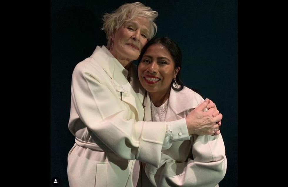 Yalitza Aparicio declaró su admiración a Glenn Close, con quien compite en la categoría a Mejor actriz en los premios Oscar 2019. (Instagram)