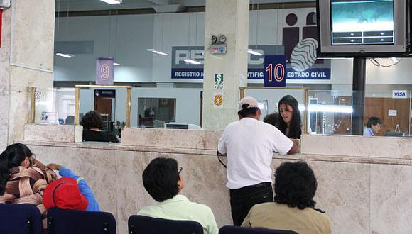 Las campañas de identificación permitirán conseguir la foto de cada ciudadano. (Perú21)