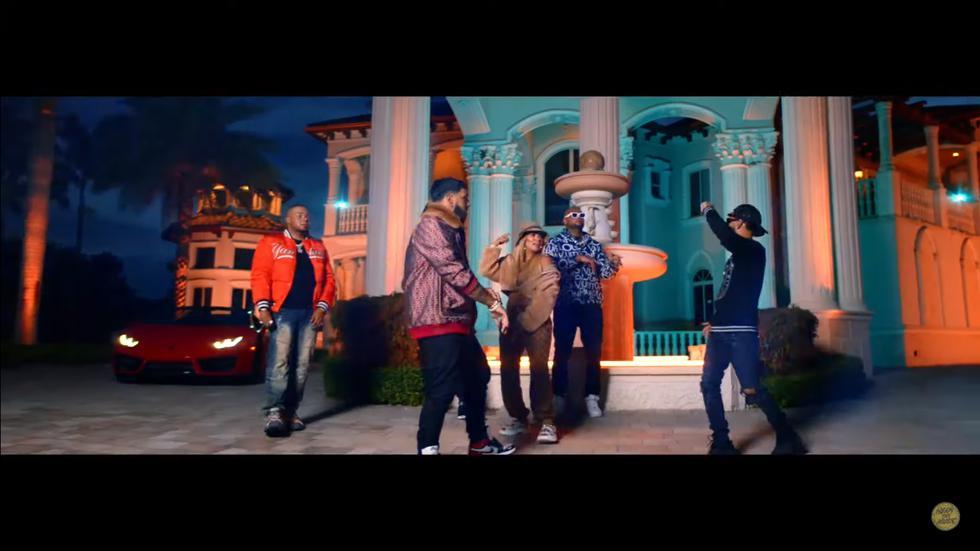 """Karol G, Anuel AA y Arcángel estrenan videoclip del single """"Tu no amas"""" (Foto: Captura de pantalla)"""