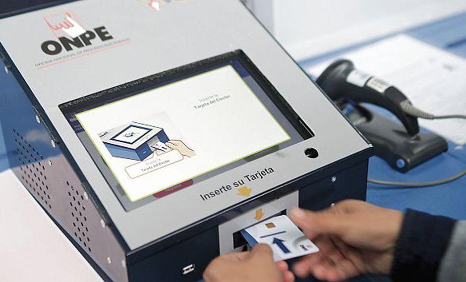 Las Elecciones Congresales Extraordinarias se realizarán este 26 de enero. (Foto: ONPE).