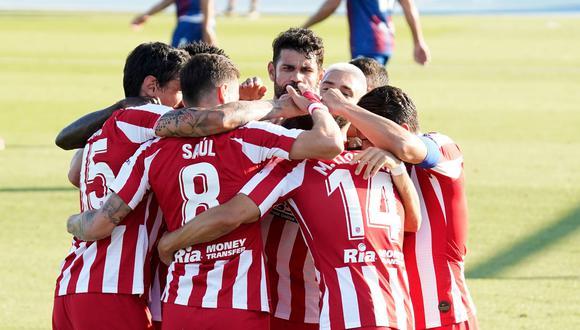 Atlético de Madrid buscará seguir en racha contra Alavés. (Foto: AFP)