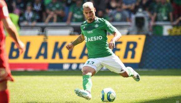 Trauco firmó por las próximas tres temporadas con Saint-Étienne. (Foto: @ASSEofficiel)