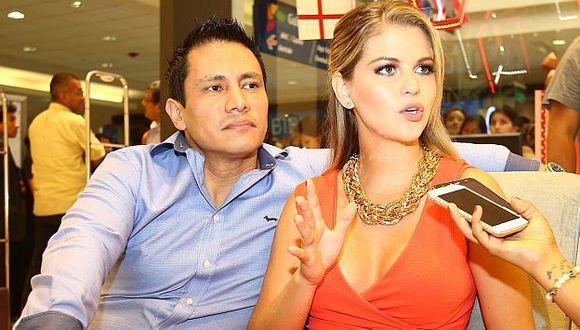 Renzo Costa espera que Brunella Horna gane el Miss Perú Universo. (USI)