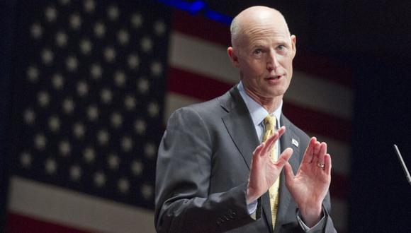 """Rick Scott, ex gobernador de Florida, hizo además un llamado a unirse a este """"esfuerzo"""" a los """"aliados"""" de Estados Unidos. (Foto: AP)"""