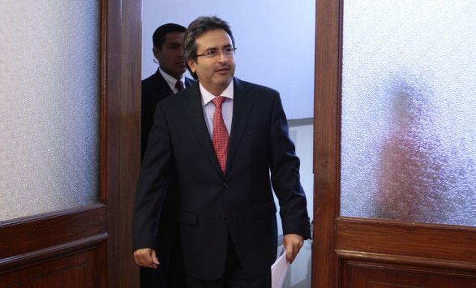 Juan Jiménez reiteró que la gestión de Ollanta Humala apuesta por la inversión. (Davis Vexelman/Peru21)
