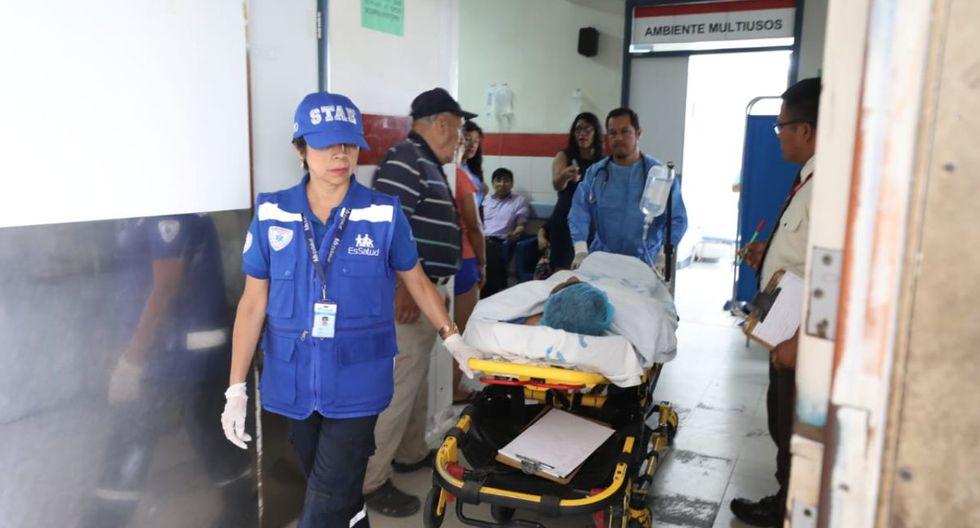 Los heridos son atendidos en hospitales del Ministerio de Salud y de EsSalud. (Canal N)