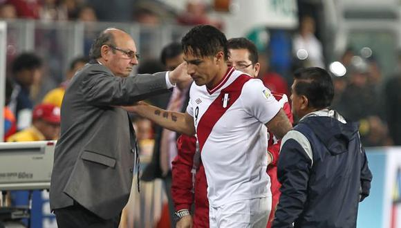 Markarián le tiene mucha confianza a Paolo Guerrero. (Fernando Sangama/Depor)