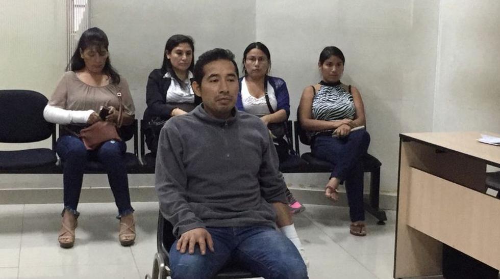 Hualpa Vacas tendrá que cumplir la orden de prisión preventiva que se le dictó este viernes. (Poder Judicial)