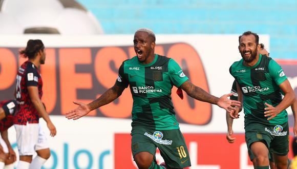 Farfán volvió con gol a su casa: Alianza Lima. (Foto: Liga Profesional de Fútbol)
