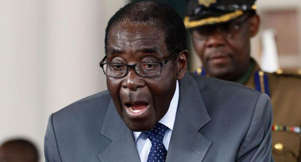 Robert Mugabe, proclamado ganador tras anuncio de impugnación. (AFP)