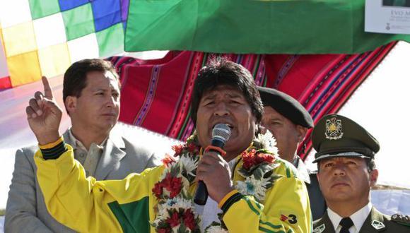 Presidente Evo Morales podría haber sido uno de los blancos de la NSA. (Reuters)