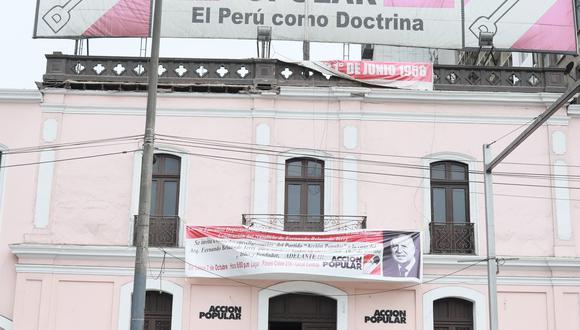 El partido Acción Popular planea llevar a cabo elecciones internas tras los comicios del 11 de abril, donde su candidato presidencial, Yonhy Lescano, quedó en el quinto lugar. (Foto: GEC)