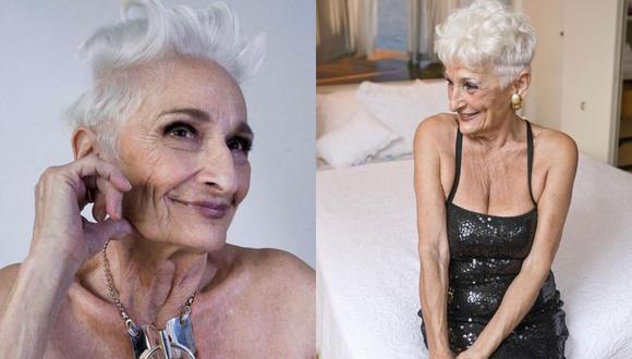 Hattie Retroage volvió a quedar soltera a sus 85 años y ahora quiere conocer a hombres mucho más jóvenes que ella para pasar el rato.   Crédito: @hattitudes1 / Instagram