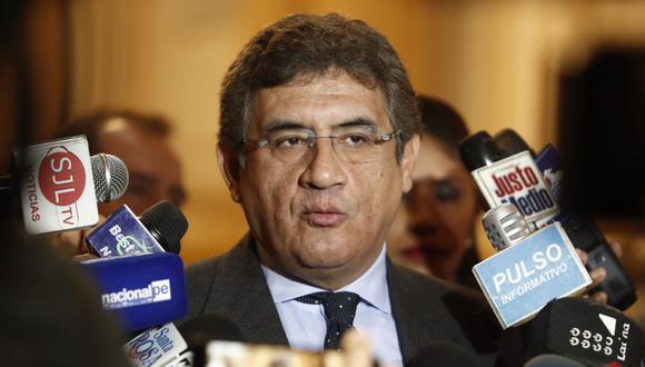 El congresista de Contigo le abrió las puertas de su bloque a los tres legisladores renunciantes a PpK. (Foto: GEC/ César Campos)