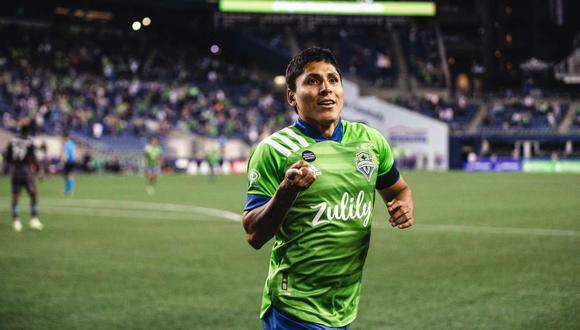 Raúl Ruidíaz apareció en el once ideal de la jornada en la MLS. (Foto: Seattle Sounders)