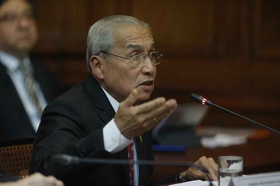 """Pedro Chávarry sostuvo que se """"ha violentado el debido proceso"""" en la suspensión de su colegiatura. (Foto: GEC)"""