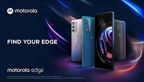 Motorola presentó la nueva familia motorola edge.