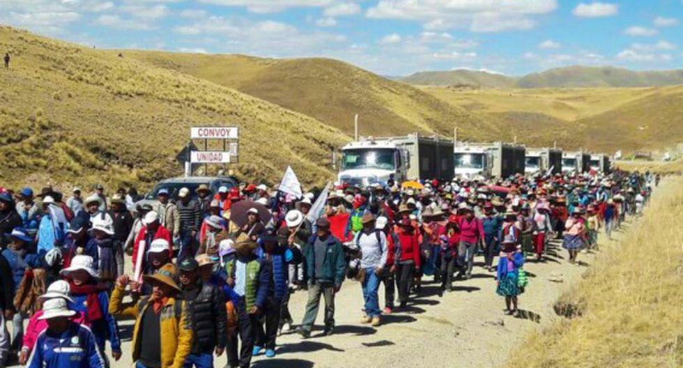 Ejecutivo modificó decreto sobre comisión multisectorial para diálogo en Las Bambas (Foto: Andina)