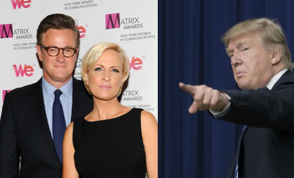 Trump no dudó en usar fuertes calificativos para los periodistas (Composición)