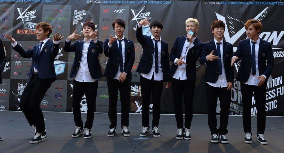 La agrupación surcoreana de K-Pop recibió dos nominaciones a los PCA 2018. (Foto: AFP)