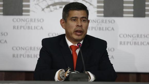Luis Galarreta no está de acuerdo con el cambio de sede de la misa del papa Francisco en Lima. (Renzo Salazar)