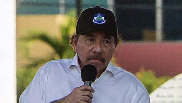 Ortega en su peor hora. (AFP)