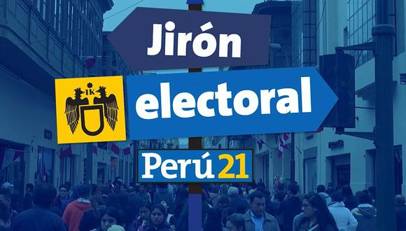 Jirón electoral, un espacio en el que podrás conocer a los candidatos a la Alcaldía de Lima de forma dinámica. (Perú21)