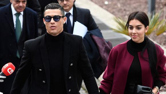El saludo de Georgina Rodríguez a Cristiano Ronaldo por su cumpleaños. (Foto: AFP)