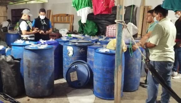 """Ucayali: Desarticulan a """"Los Chimberos de Calleria"""" dedicados a la falsificación y adulteración de productos sanitarios"""
