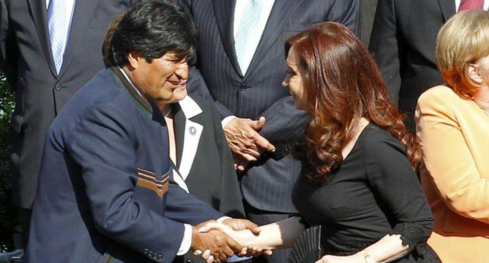 'HERMANOS' EN EL LUJO. Evo Morales y Cristina Fernández no tienen prácticas y gustos muy austeros. (Reuters)