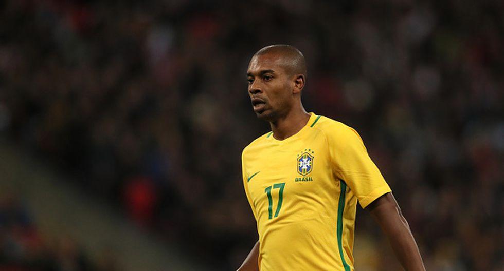 Fernandinho de Manchester City. (Getty Images)