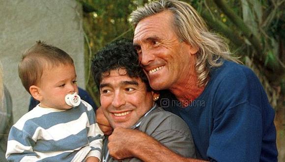 Maradona compartió un mensaje de aliento a Hugo Gatti. (Foto: Diego Maradona)