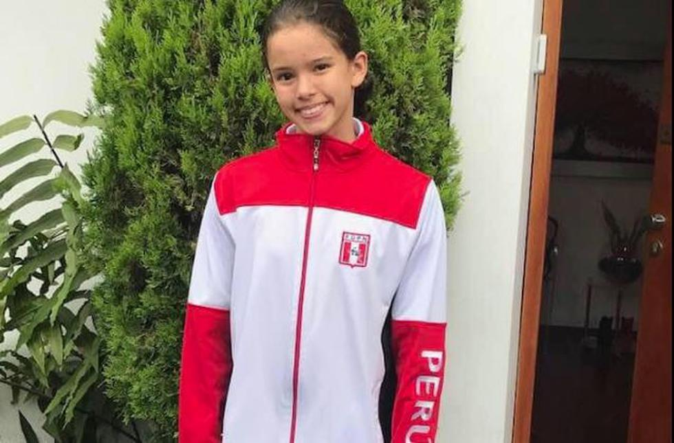 ¡Orgullo Nacional! Alexia Sotomayor ganó medalla de oro en Campeonato Sudamericano de Natación. (Facebook)
