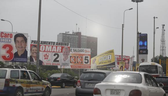 Partidos políticos en Lima (USI)