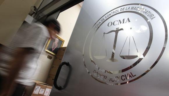 En 2015 la OCMA sancionó a 669 jueces en todo el Perú. (USI)