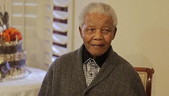 Mandela se recuperará en su vivienda de Johannesburgo.  (AP)