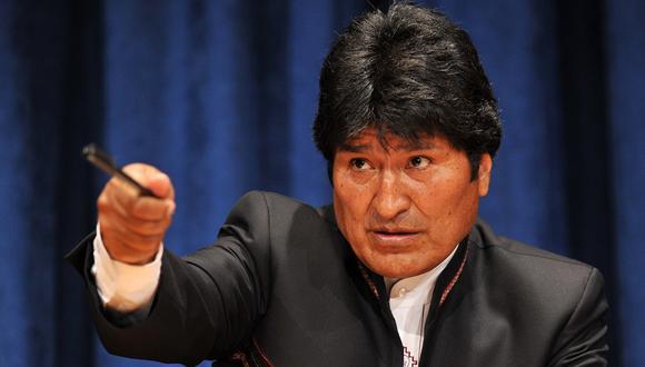 El expresidente Evo Morales dejó el poder el domingo acorralado por la presión de las fuerzas armadas y las protestas sociales. (Foto: AFP)