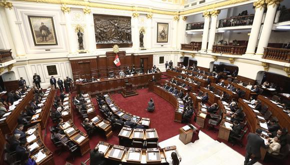 Pleno del Congreso (César Campos/Perú21)