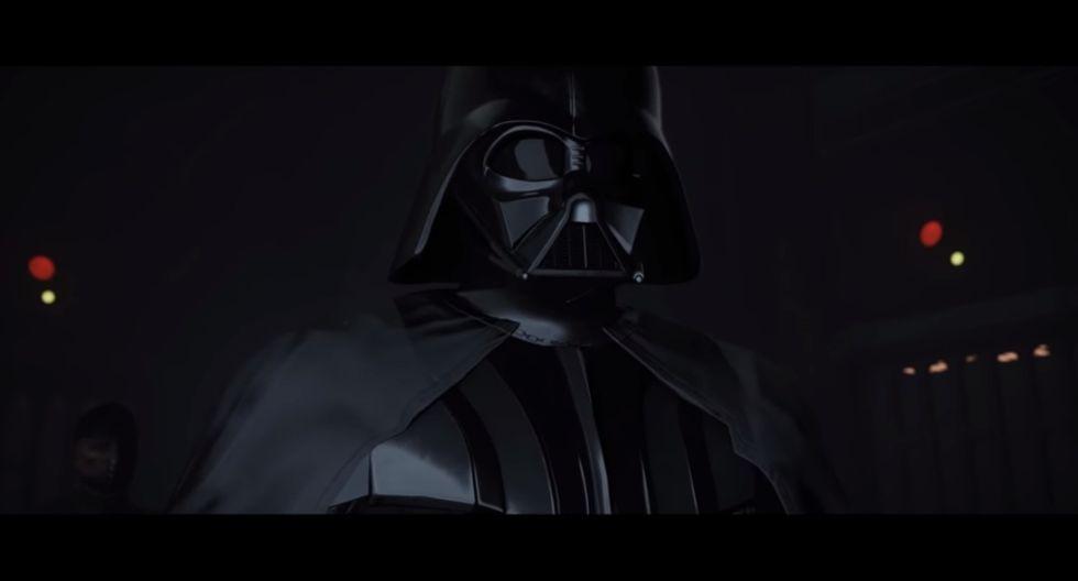 Star Wars: Episodios de Darth Vader estarán disponibles en realidad virtual   Foto: Captura YouTube