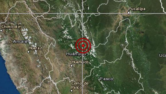 No hay reporte de daños por el sismo. (Foto: IGP)