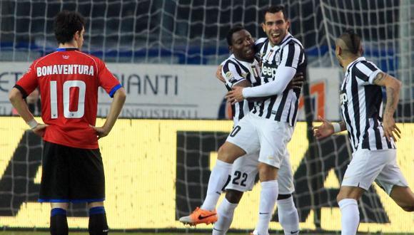 Golearon 4-1 a Atalanta. (AP)