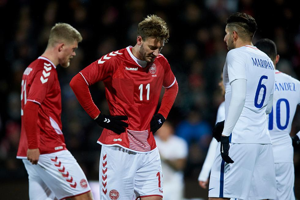 Nicklas Bendtner. (Getty)