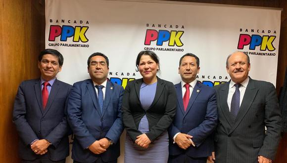 La exparlamentaria de Cambio21, se suma a Clemente Flores, Jorge Meléndez, Alberto Oliva y Sergio Dávila. (Difusión)