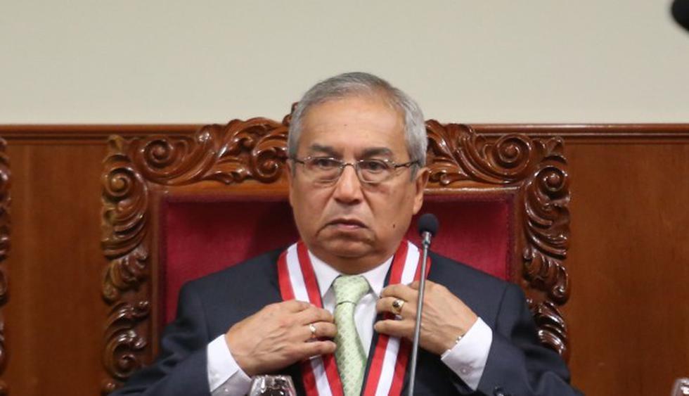 Pedro Chávarry no será investigado por encubrimiento real ni personal por el deslacrado de oficinas del Ministerio Público. (Foto: GEC)